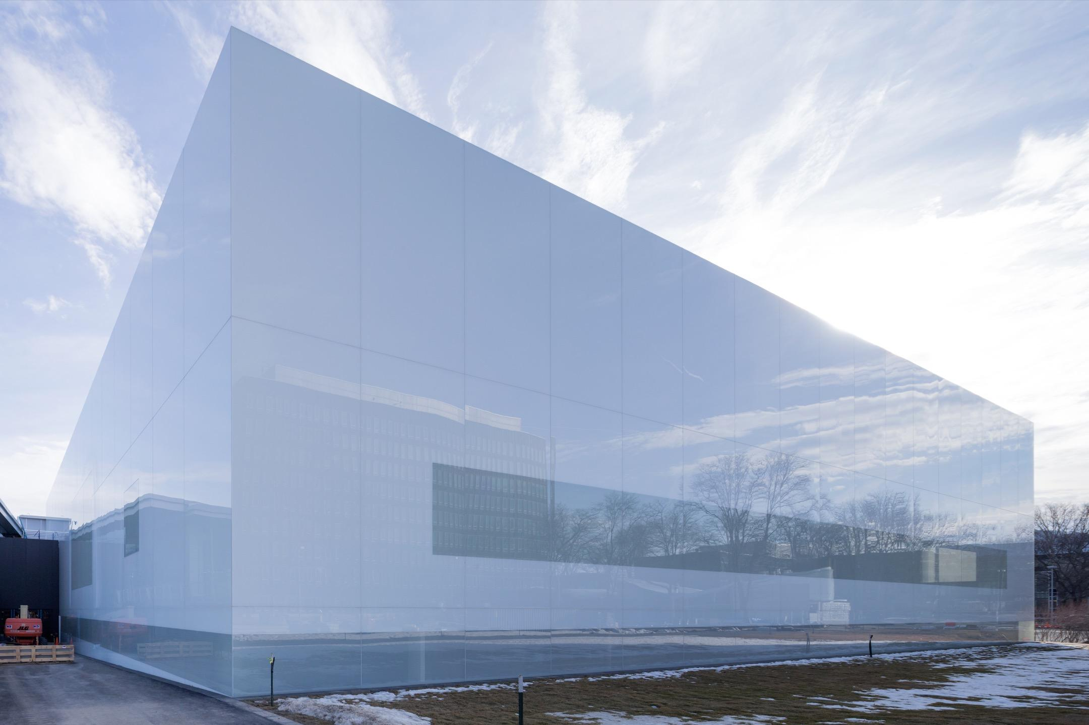 The Corning Museum of Glass - North Wing Expansion   Vanceva® Color ...