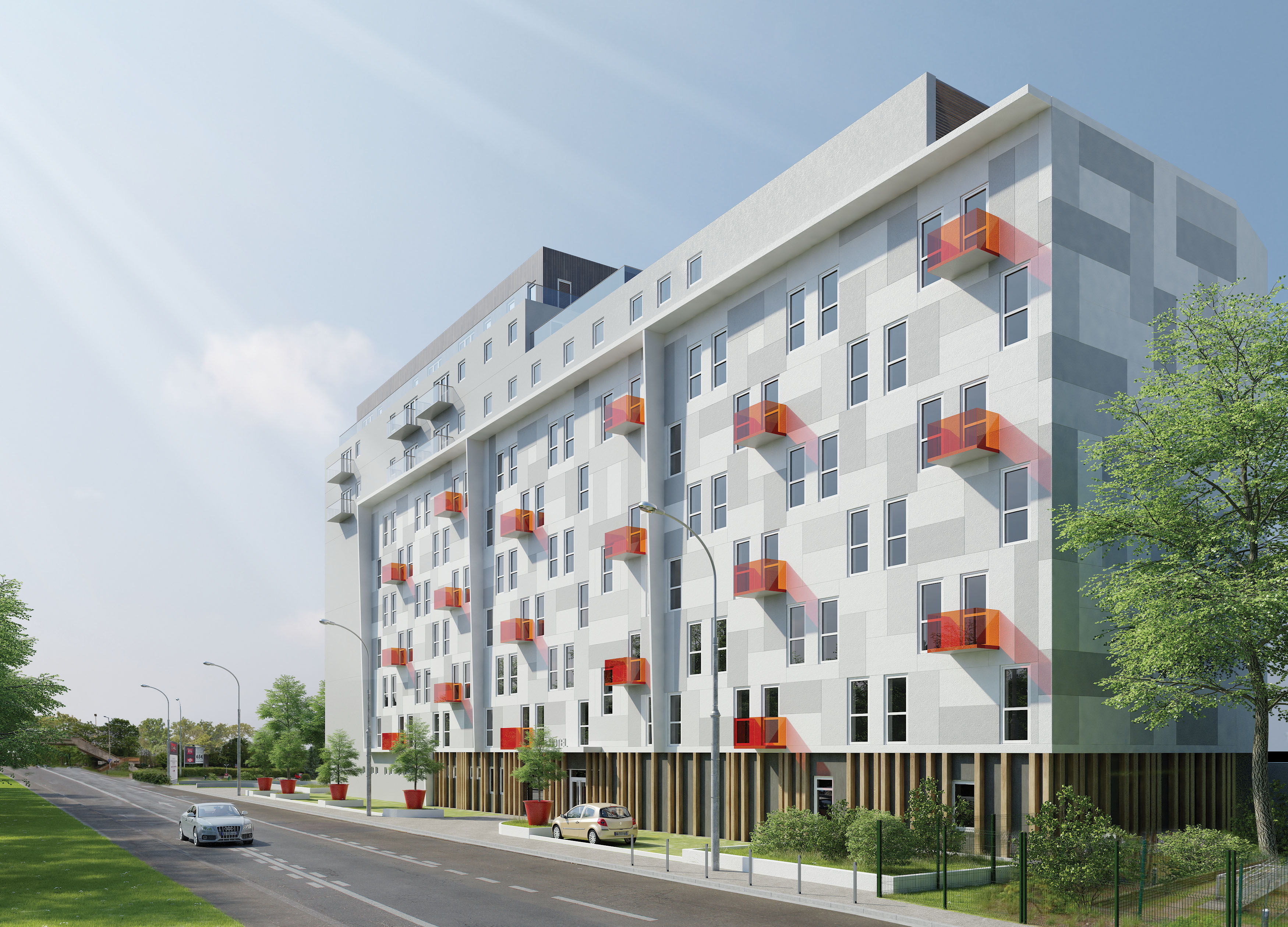Hotel et logements meudon vanceva color studio for Architecte meudon