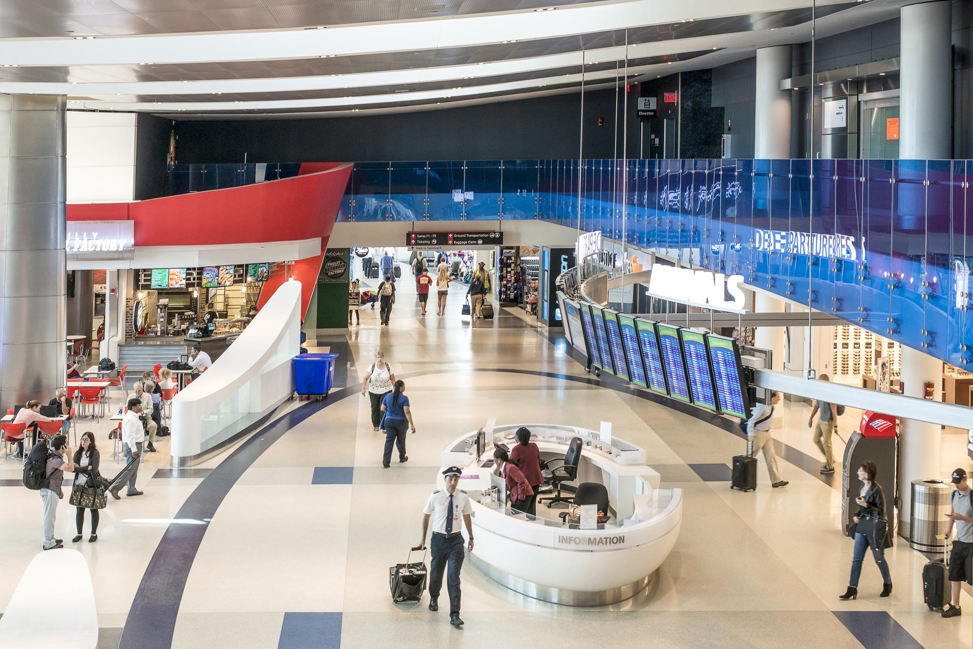 Food Court Philadelphia Airport